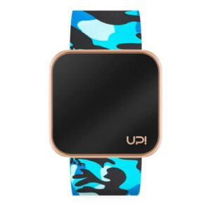 UPWATCH TOUCH SHINY ROSE&BLUE CAMOUFLAGE