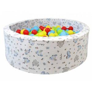 Babyplay Top Oyun Havuzu - Oyun Halısı - Sünger Oyun Alanı - 200 Adet Top Hediye T1