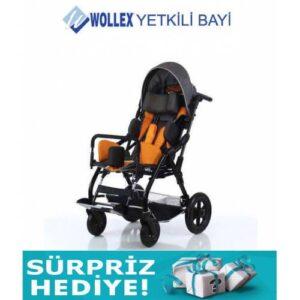 Wollex 8001-16 Trio CP Tekerlekli Sandalye Hasta Engelli Çocuk Bebek Puseti +AYNI GÜN ÜCRETSİZ KARGO