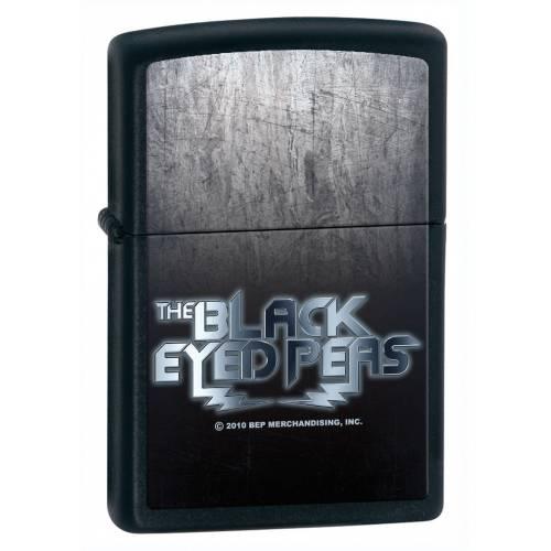 Zippo Çakmak Siyah Black Eyed Peas 28027-000004
