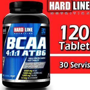 Hardline Bcaa 4:1:1 Atb6 120 Tablet FATURALI HIZLI KARGO SKT:11/22 Hardlıne