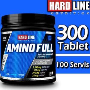 Hardline Amino Full 300 Tablet Amino Asit SKT 05/2022 Hardlıne Amino Asit