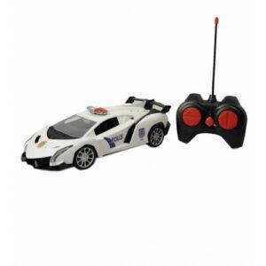 1:16, 2.4 Ghz Uzaktan Kumandalı Şarjlı, Mega Hız Oyuncak Spor Polis Arabası