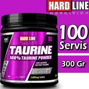 Hardline Taurine Powder Taurin Aromasız 300 gr 11/2021 Hardlıne