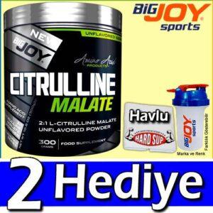 BigJoy Sports Citrulline Malate 300 Gr 2 HEDİYELİ Citrulin Big Joy