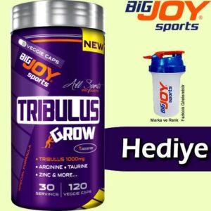 BigJoy Sports Tribulus GRW 120 Kapsül Özel Birleşik Yeni Formül Tribulus, Taurine, Arginine