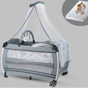 Baby Home 610 Weenle Tüllü 70x110 Bebek Oyun Parkı Park Yatak Beşik