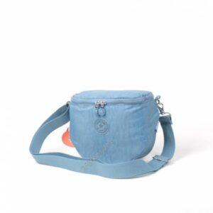 1232 Krinkıl Kumaş Kadın Omuz Çantası Smart Bags 50 Buz Mavisi