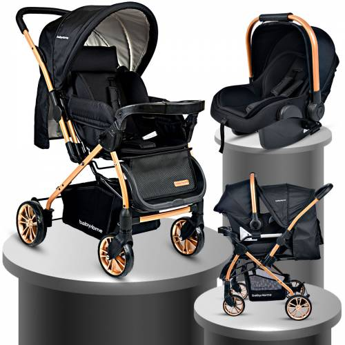 Baby Home Bh-790 Gold Urbo Travel Seyahat Sistem Bebek Arabası Puset