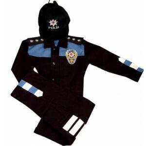 ÇOCUK POLİS KIYAFETİ 1-10 YAŞ ( Çocuk asker kostumü )
