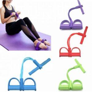 Body Trimmer Egzersiz Aleti El Ayak Direnç Yayı Lastiği Spor Fitness Vücut Karın Kondisyon Lastik