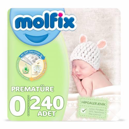 Molfix Prematüre 0 Beden 240 Adet