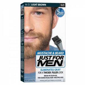 Just For Men Sakal ve Bıyık Boyası Açık Kahverengi
