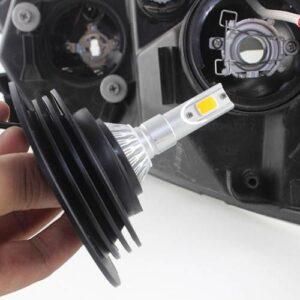Araç Far Toz Lastiği Far Kapağı H4-H7 Led Xenon Led Far Toz Lastiği