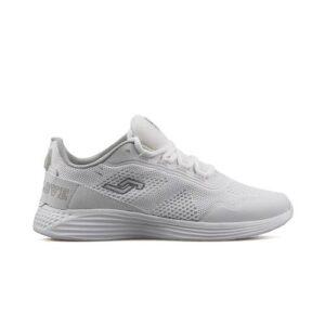 Jump 24796 A White Silver Beyaz Kadın Günlük Ayakkabı