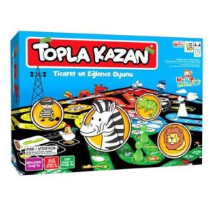 Mortoys, Topla Kazan, Monopoly, Ticaret Oyunu, Eğlenceli Aile Oyunu, Eğitici Zeka Oyunları, Monopoli
