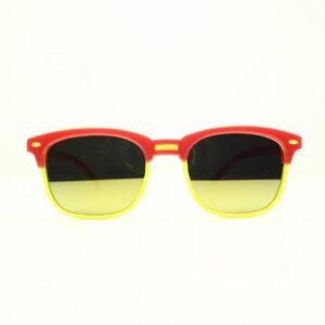 Kid 753sk  Sarı Kırmızı Çocuk Güneş Gözlüğü