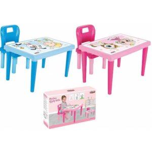 Pilsan Modern Çalışma Sırası - Sandalyeli Çalışma Masası
