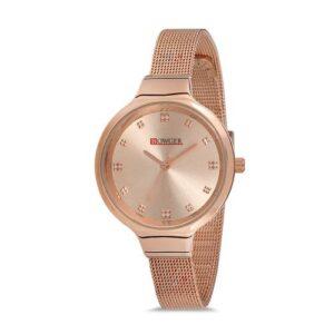 Bowger Klasik İnce Kordon Şık Kadın Kol Saati BWG-8103B