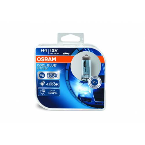 Osram 12v H4 Cool Blue Intense Xenon Look(Beyaz Işık)64193 CBI HCB(Set)