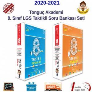 Tonguç Akademi 8. Sınıf LGS Taktikli Soru Bankası Full Seti 6 Kitap 2021