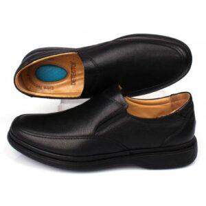 Detector İç Dış Komple Deri Ful Ortopedik Jel Tabanlı Büyük Numara Günlük Erkek Ayakkabı ŞM209-3