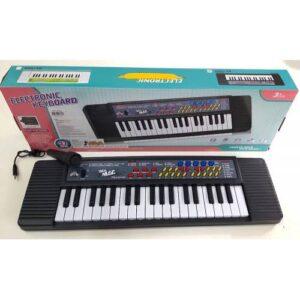 37 Tuşlu Mikrofonlu Org Çocuk Piyano Karaoke (SİYAH)