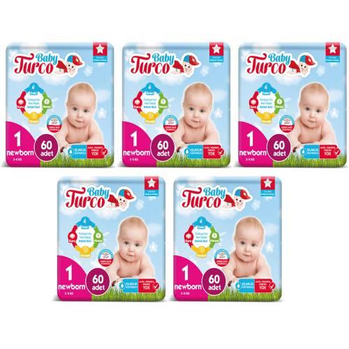 Baby Turco 1 Beden 60 Adet