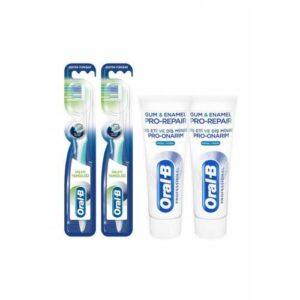 Oral-B Diş Eti Temizliği Diş Fırçası 1+1