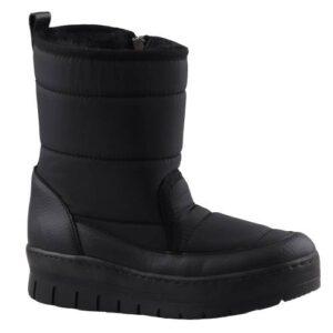 Föz 890 Yan Fermuralı İçi Kürklü Bayan Kar Botu Ayakkabı