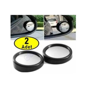 2 ADET Araç Araba İç Dış Dikiz Ayna Kör Nokta Seti Kolay Görüş Güvenlik (2 Adet)
