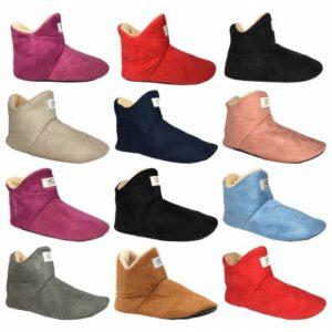 UCC Kadın - Erkek Ev  Pandufu Botu Ev Ayakkabısı