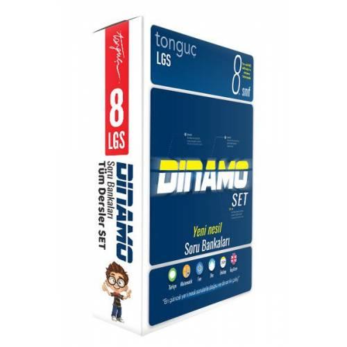 Tonguç Akademi 8. Sınıf 2021 LGS Dinamo Tüm Dersler Soru Bankası Seti
