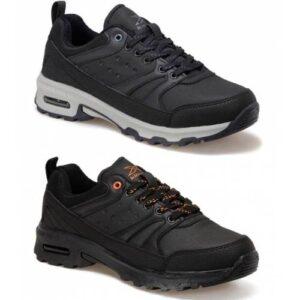 Kinetix Trekking Ayakkabı Erkek Outdoor Ayakkabı Kalın Taban Koşu Ayakkabısı Outdoor Spor Ayakkabısı