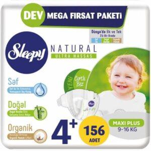 Sleepy Natural 4+ Beden 156 Adet