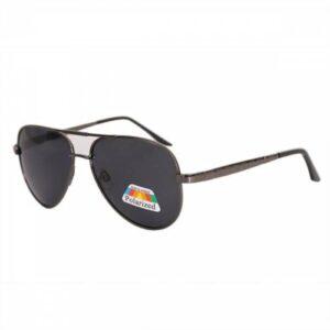 Rewel Polarized Metal Siyah Erkek Güneş Gözlüğü 711433AV 815002