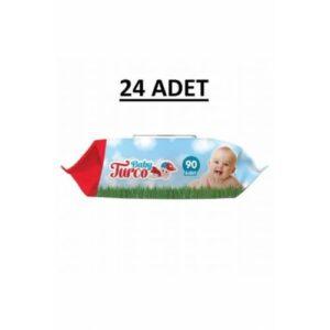 Baby Turco Islak Havlu Kapaklı 2160 Yaprak 24 X 90 Lı