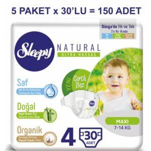 Sleepy Natural 4 Beden 30 Adet
