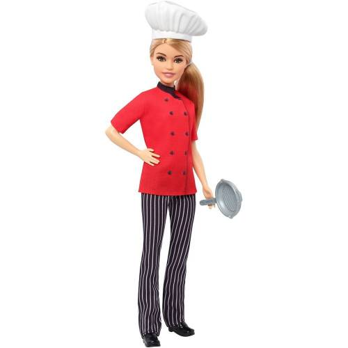 Barbie Kariyer Bebekleri Şef Bebek ve Tava FXN99