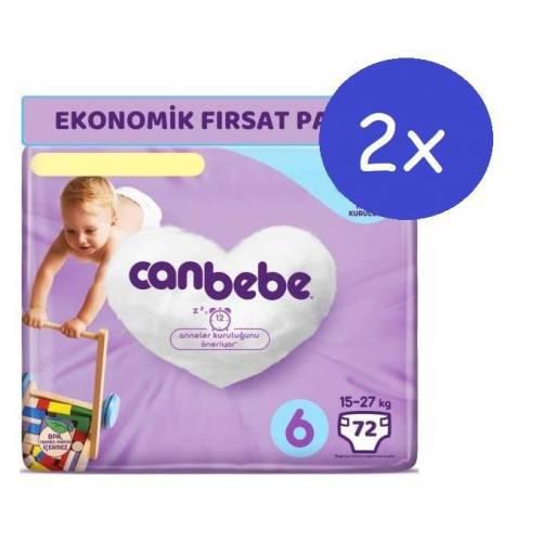 Canbebe 6 Beden 72 Adet