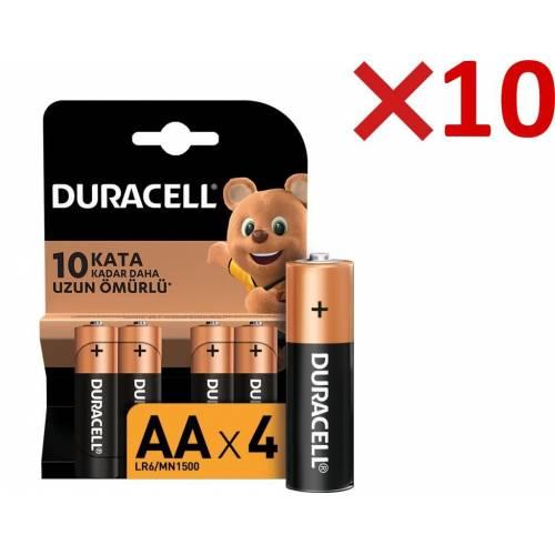 Duracell Alkalin AA Kalem Pil 40'lı Paket