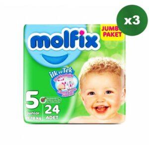 Molfix 5 Beden 24 Adet