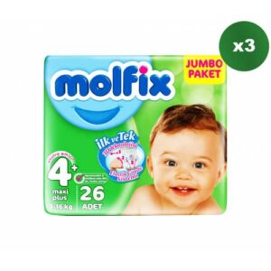Molfix 4+ Beden 26 Adet
