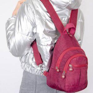 bizoon NP2055 Krinkl Kumaş Sırt ve Body Bag Kadın Çanta