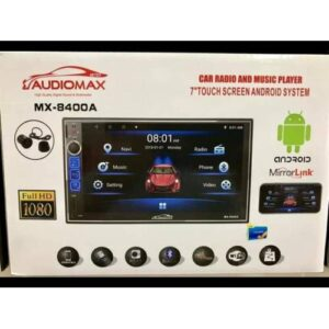 """AUDİOMAX MX 8400A 7"""" DOUBLE ANDROİD OTO TEYP GPS 16GB 1GB"""