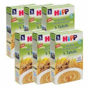HiPP Organik 5 Tahıllı 200 gr