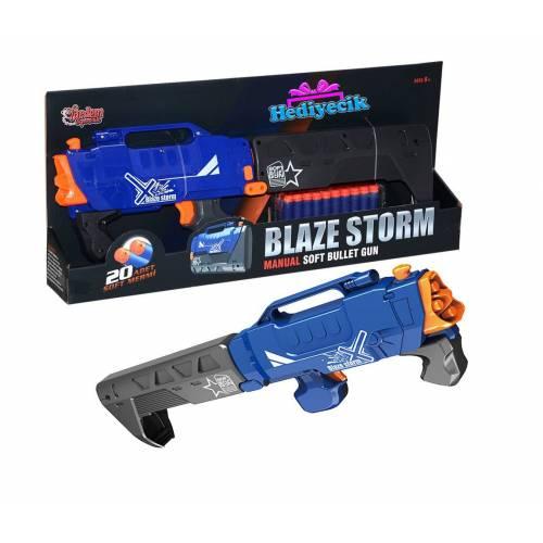 Blaze Storm Yumusak Mermili Katlanabilir Tüfek 20Adet Yumusak Mermi