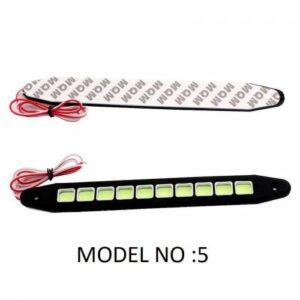 Esnek Ayarlanabilir Gündüz Ledi Farı DRL Su Geçirmez Beyaz Işık Model No: 5