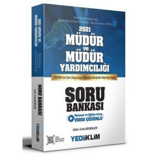Yediiklim Yayınları 2021 MEB EKYS Müdür ve Müdür Yardımcılığı Soru Bankası