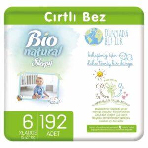 Sleepy Bio Natural 6 Beden 192 Adet